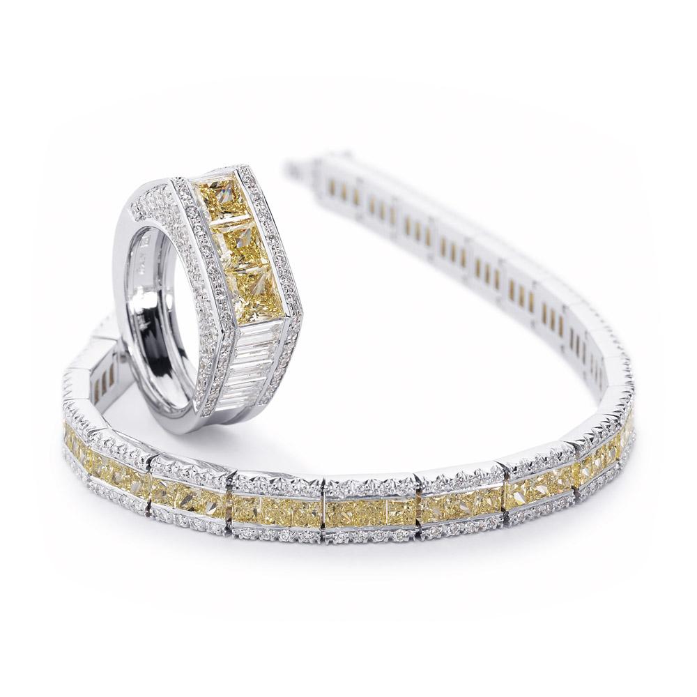 Favero Jewels | Collezione Timeless Anello e Bracciale Princess